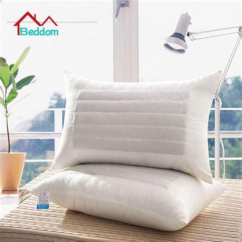Sale Lunar Healt Pillow beddom pillow white buckwheat fillded health care single bed pillows sleeping pillow decorative