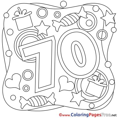 70s Coloring Page by 70 Years Happy Birthday Coloring Pages Free