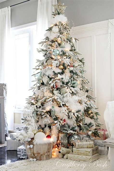 clever white christmas tree decorating ideas crafty morning versiering voor de kerstboom interiorinsider nl