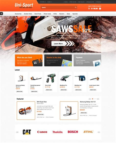 best opencart templates 27 best the best opencart template images on