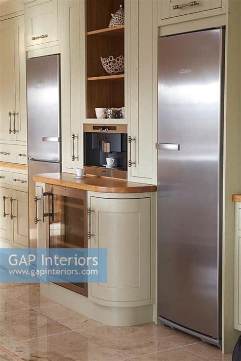 Two Fridges In Kitchen - gap interiors modern kitchen with two fridge freezers