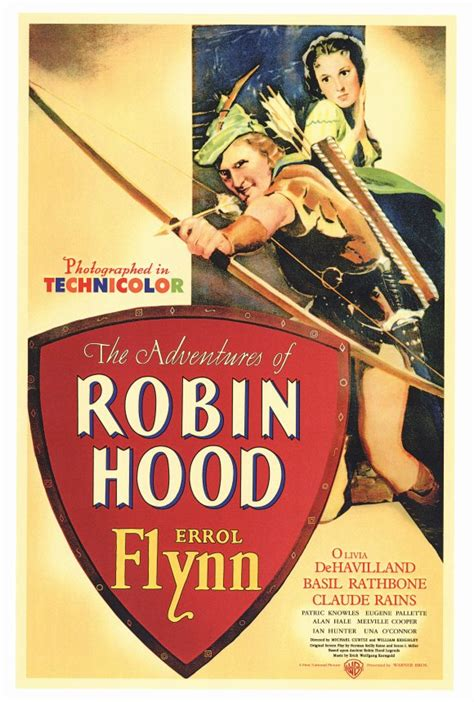 poster acoustic panel  adventures  robin hood