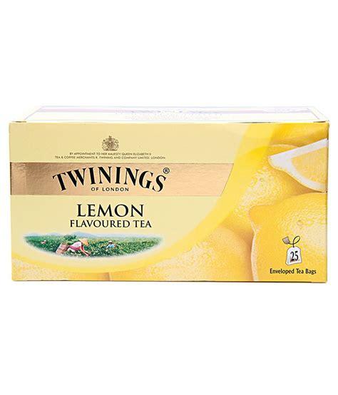 Twinings Green Tea Lemon 25 Teabags buy twinings lemon tea 25 tea bags on snapdeal paisawapas