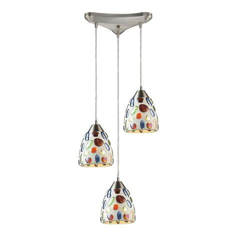 multi colored glass pendant lights modern multi light pendant light with multi color glass