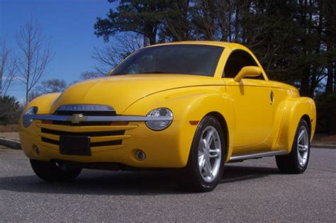 best car repair manuals 2005 chevrolet ssr lane departure warning beautiful 2005 chevrolet ssr slingshot yellow modern hot rod low miles 6 speed