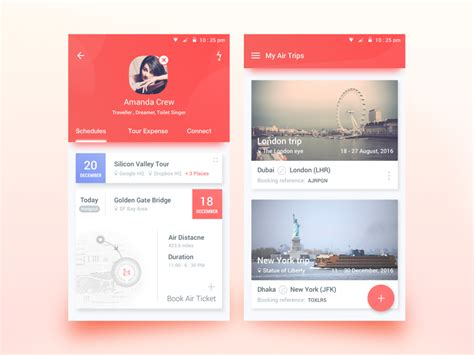 design inspiration apps android 50 user profile page design inspiration muzli design