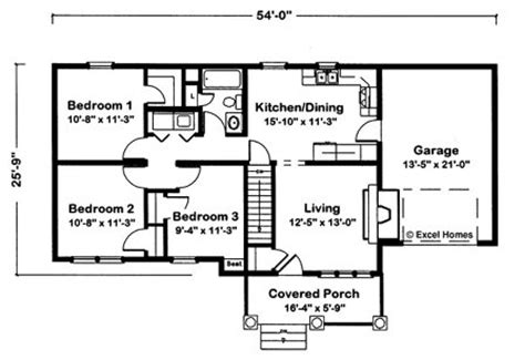 exle floor plans independence by excel modular homes ranch floorplan