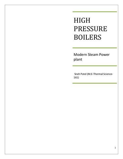 high pressure boilers high pressure boilers 1