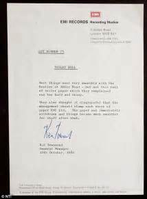 Explanation Letter Of Missing Item The Beatles Toilet Roll They Refused At Road Could Sell For 163 1k Per Sheet Daily Mail