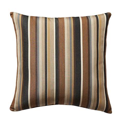 home decorators outdoor pillows home decorators collection sunbrella 18 in espresso