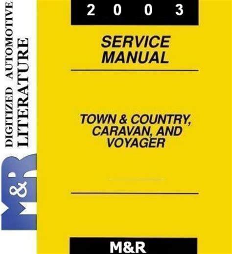 2003 caravan grand caravan by dodge service shop