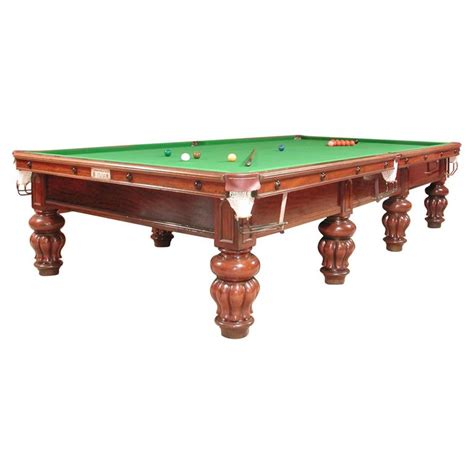 Antique Pool Table by Billiard Snooker Pool Table Antique Circa 1890 For Sale At
