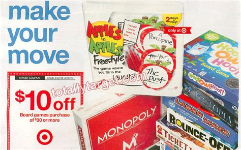 printable board game coupons lots of new hasbro game coupons upcoming 10 off a 30