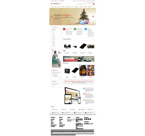 theme editor in magento accessshop lite theme magento extension by accessshoptheme