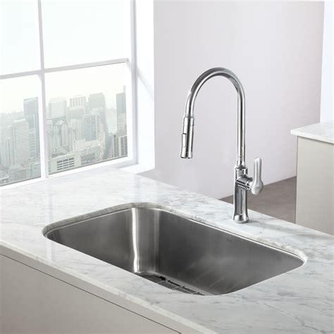 kraus kbu14 kitchen sink stainless steel kitchen sinks