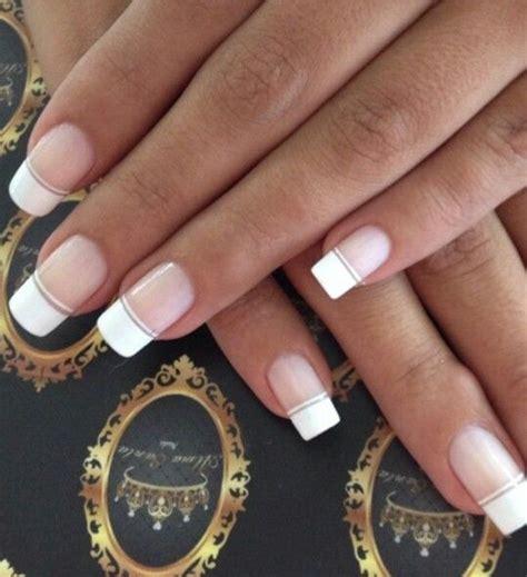 imagenes de uñas pintadas frances m 225 s de 25 ideas fant 225 sticas sobre u 241 as francesas en