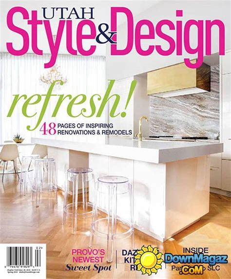 utah home design magazine utah style design spring 2016 187 download pdf magazines