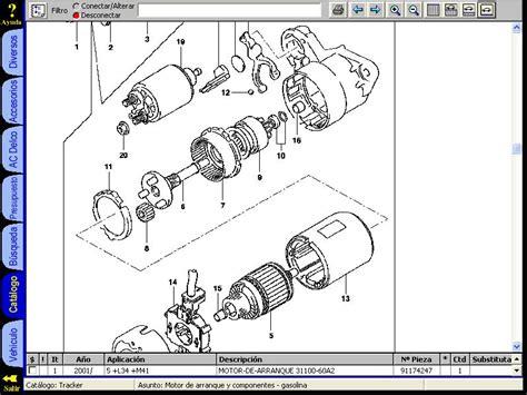 automotive service manuals 1999 chevrolet tracker regenerative braking chevrolet tracker 1999 service repair workshop