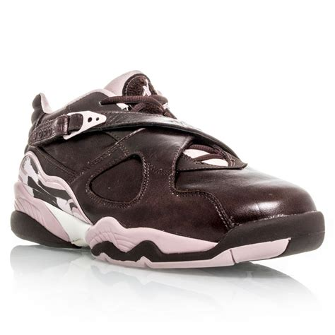 air womens basketball shoes air 8 retro low womens basketball shoes brown