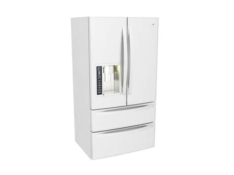 Lg Refrigerator Models Door by Lg Door Refrigerator 3d Model 3ds Max Files Free