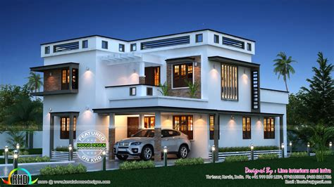1500 Square Fit Latest Home Front 3d Designs Inspirations New Home Design Trends In Kerala