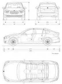 bmw 5 series sedan dimensions