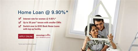 bank loan house home loans housing loan finance apply online at icici bank