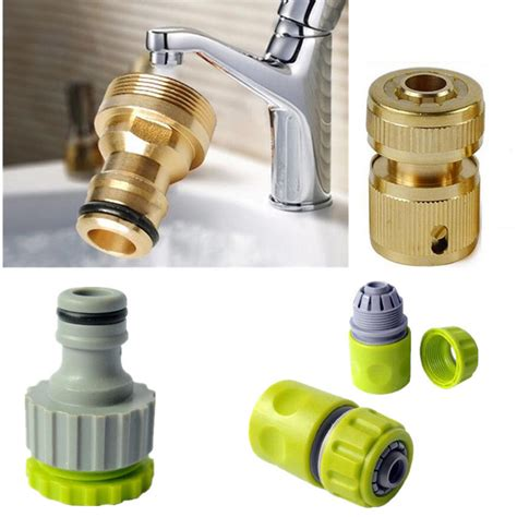 Plumbing Pipe Connectors by Fittings Plumbing Water Hose Pipe Tubing Watering Garden Connector Accessories Ebay