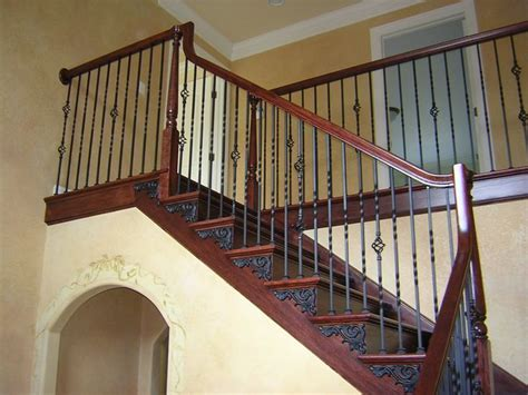how to clean wood banisters forged iron stair railings xstream auto cleaning and