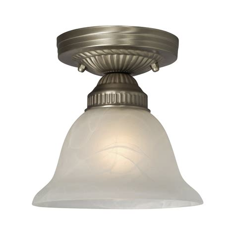 galaxy lighting 611870pt sarita semi flush ceiling light