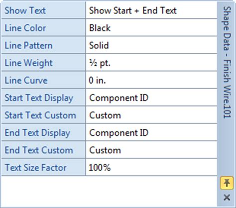 visio default font size wire shapes d tools