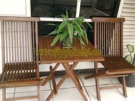 Kursi Bambu Teras kursi teras lipat jati harga jual jepara murah
