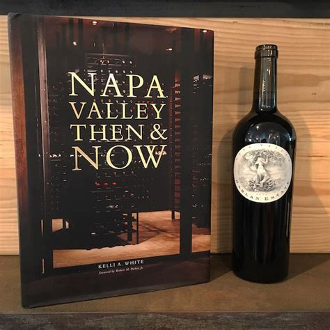 reference book napa valley k laz wine collection napa valley then now book