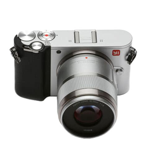 Xiaomi Yi M1 Mirrorless Digital Lens Silver xiaomi yi m1 mirrorless digital prime lens version silver specifications