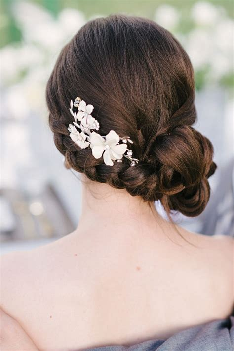 wedding hairstyles with a bun hairstyles vintage updo for every pretty designs