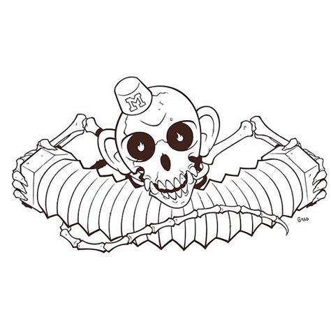 monkey bones tattoo monkey bones design