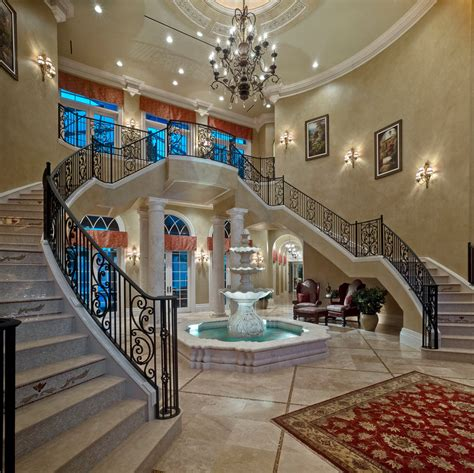 amazing indoor water decorating ideas gallery in staircase mediterranean design ideas
