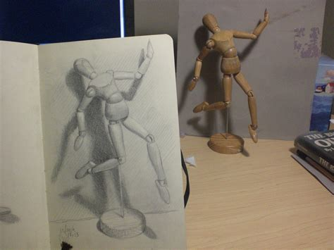 Drawing Mannequin by My Drawing Journal Manikin And Cast Shadow