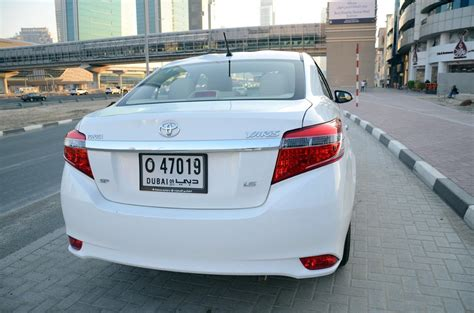 Rear View All New Yaris 2014 toyota yaris 2014 sedan review basic plus drivemeonline