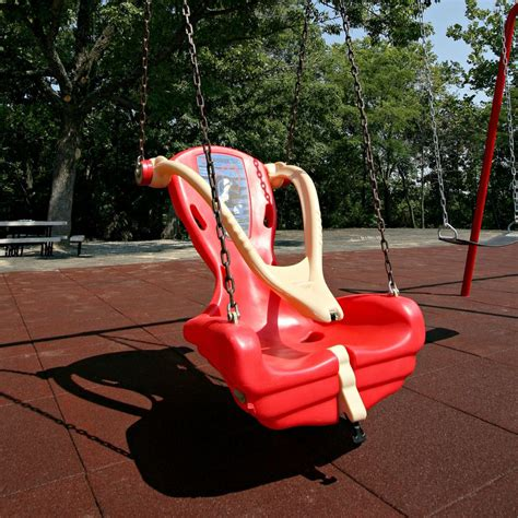 handicap swings accessible playground equipment little tikes outdoor