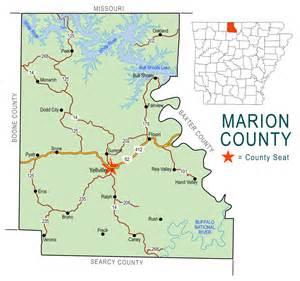 marion map marion county map encyclopedia of arkansas