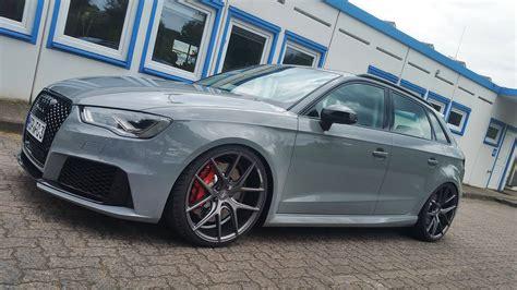 Audi Z Performance by Zp 09 Concave Matte Gunmetal