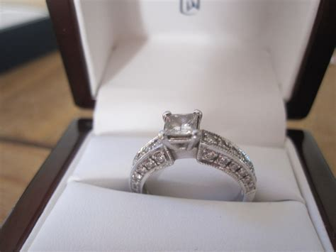 Wedding Ring In Box by Engagement Ring Box With Ring 40 Engagement Rings