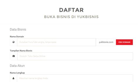 membuat toko online yang bagus cara membuat toko online gratis di yukbisnis com