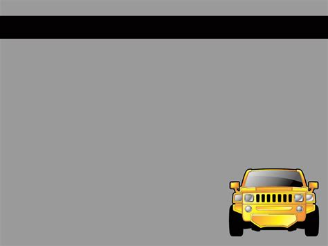 car powerpoint template yellow car ppt backgrounds yellow car ppt photos yellow