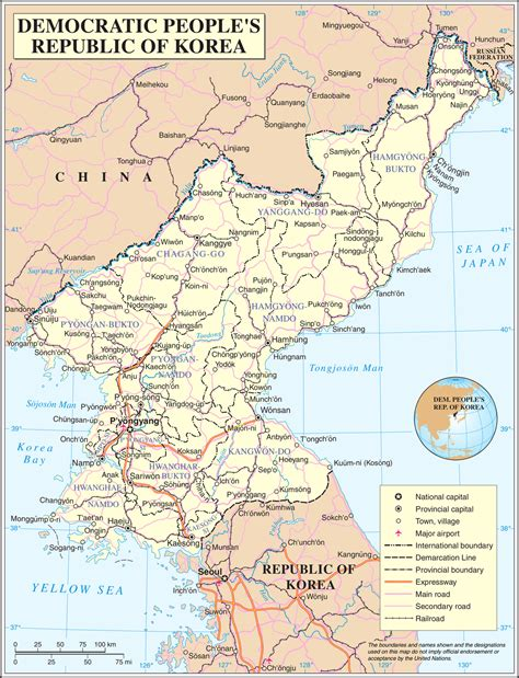 What A Map geography of korea
