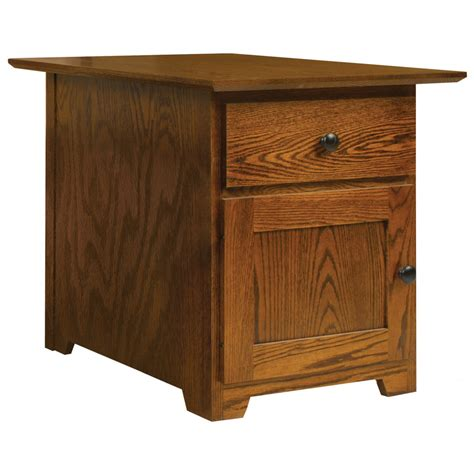large end table large end table amish crafted furniture