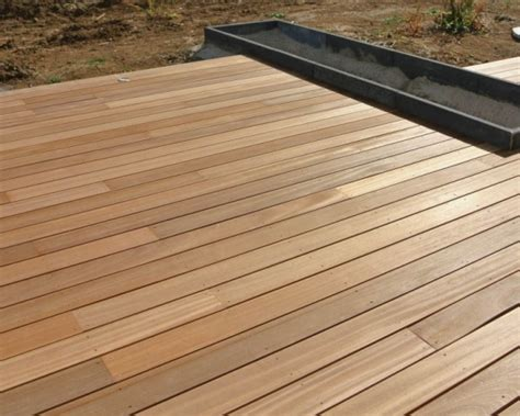 Terrasse 40m2 by Terrasse Bois Composite 32 M2