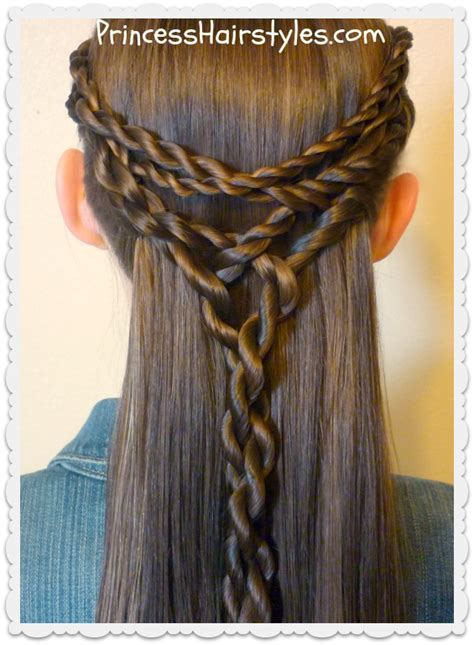 tie back hairstyles tangled twists tie back hairstyle hairstyles for girls