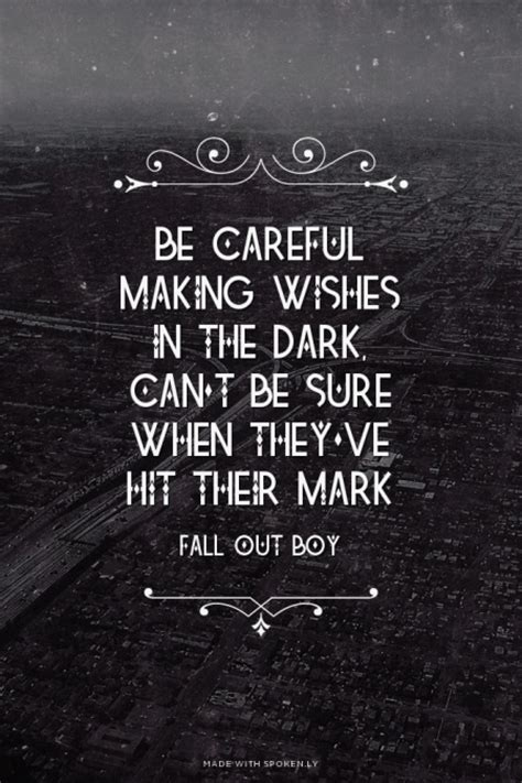 fall out boy quotes best fall out boy quotes quotesgram